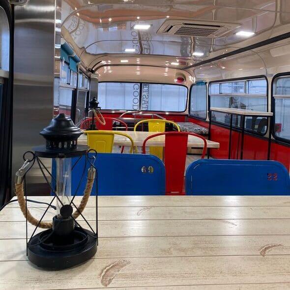 Fook truck bus inglés planta superior